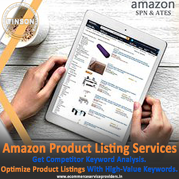 Amazon Product Listings & Optimization Services